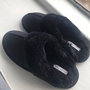 💕LASTCHANCE-FINALPRICE💕Women black cozy slippers